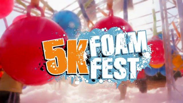 5K run with foam!