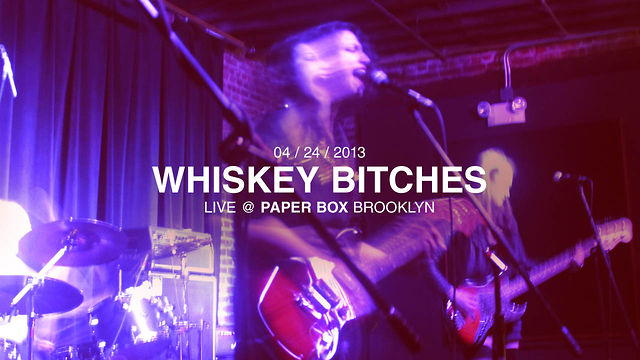 Whiskey Bitches @ The Paper Box - by J Straw