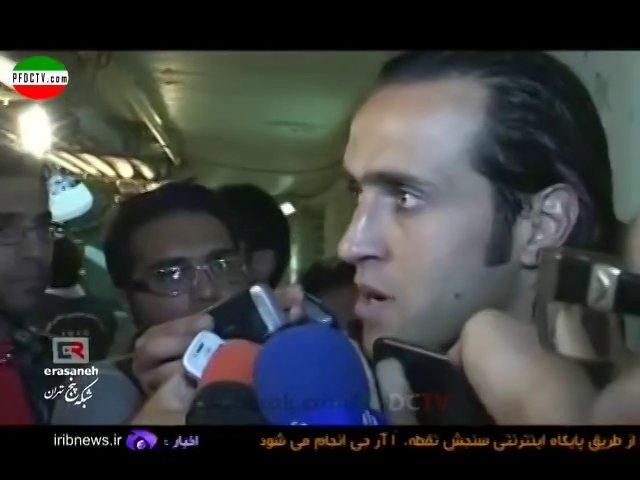 INTERVIEWS —» Perspolis – Sepahan | Hazfi Final – 2013