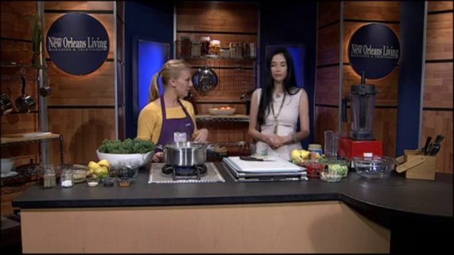 New Orleans Living Tv Show with Charles Jolivette & Healthy Eating Experts from Whole Foods