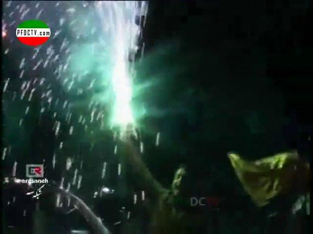 FAN'S REACTION —» Perspolis – Sepahan | Hazfi Final – 2013