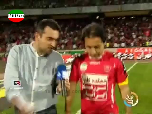 2 | INTERVIEWS —» Perspolis – Sepahan | Hazfi Final – 2013