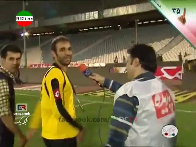 4 | INTERVIEWS —» Perspolis – Sepahan | Hazfi Final – 2013