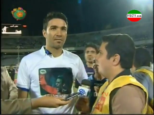 INTERVIEWS —» Esteghlal | IPL Champion  – 2012/2013