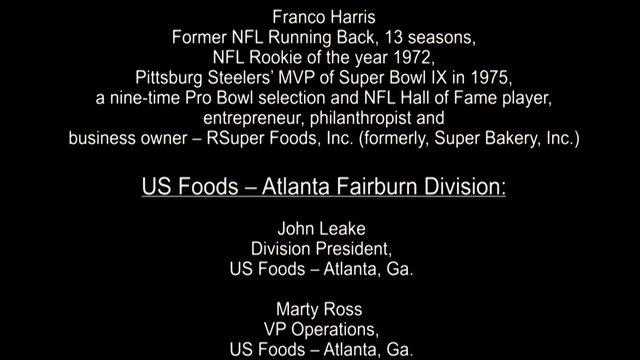US Foods Training Video