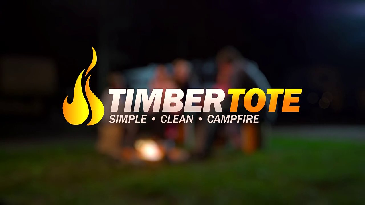 Timber Tote - The One Log Campfire