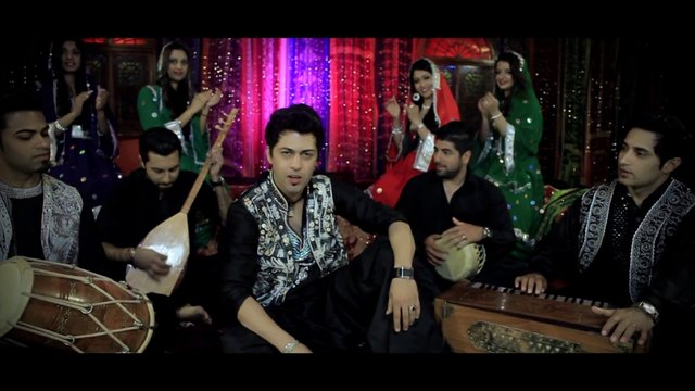 Gonjeshkake Telayee - Aria Band May 2013 Full HD