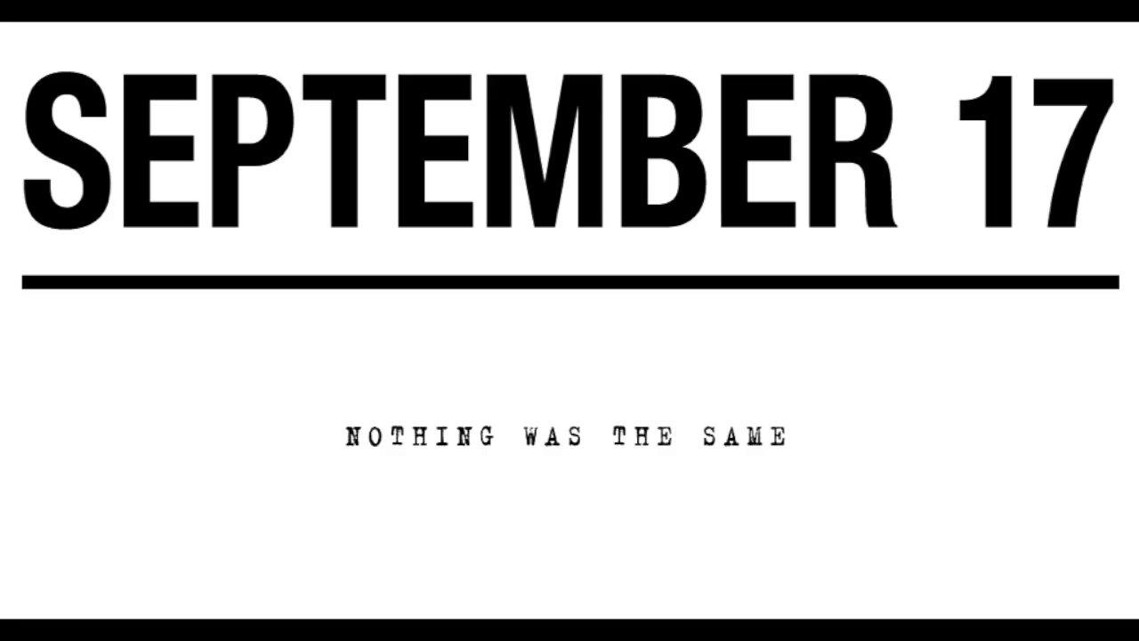 'Drake's Nothing Was The Same Album Trailer' September 17