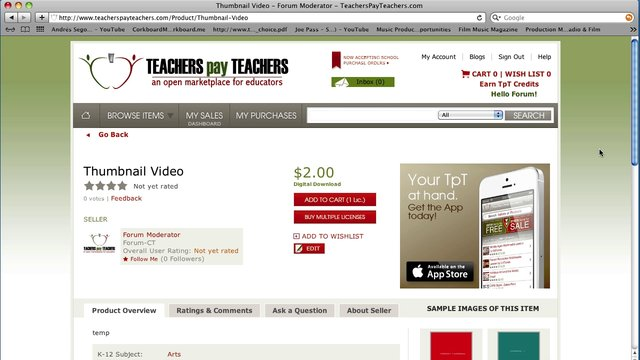 TeachersPayTeachers overview
