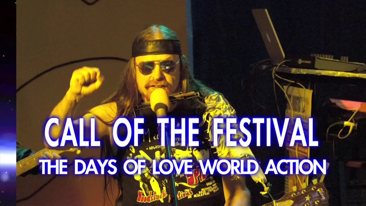 Call Of The Festival - Michel Montecrossa's Song for announcing the Spirit of Woodstock Festival 2013 in Mirapuri, Italy