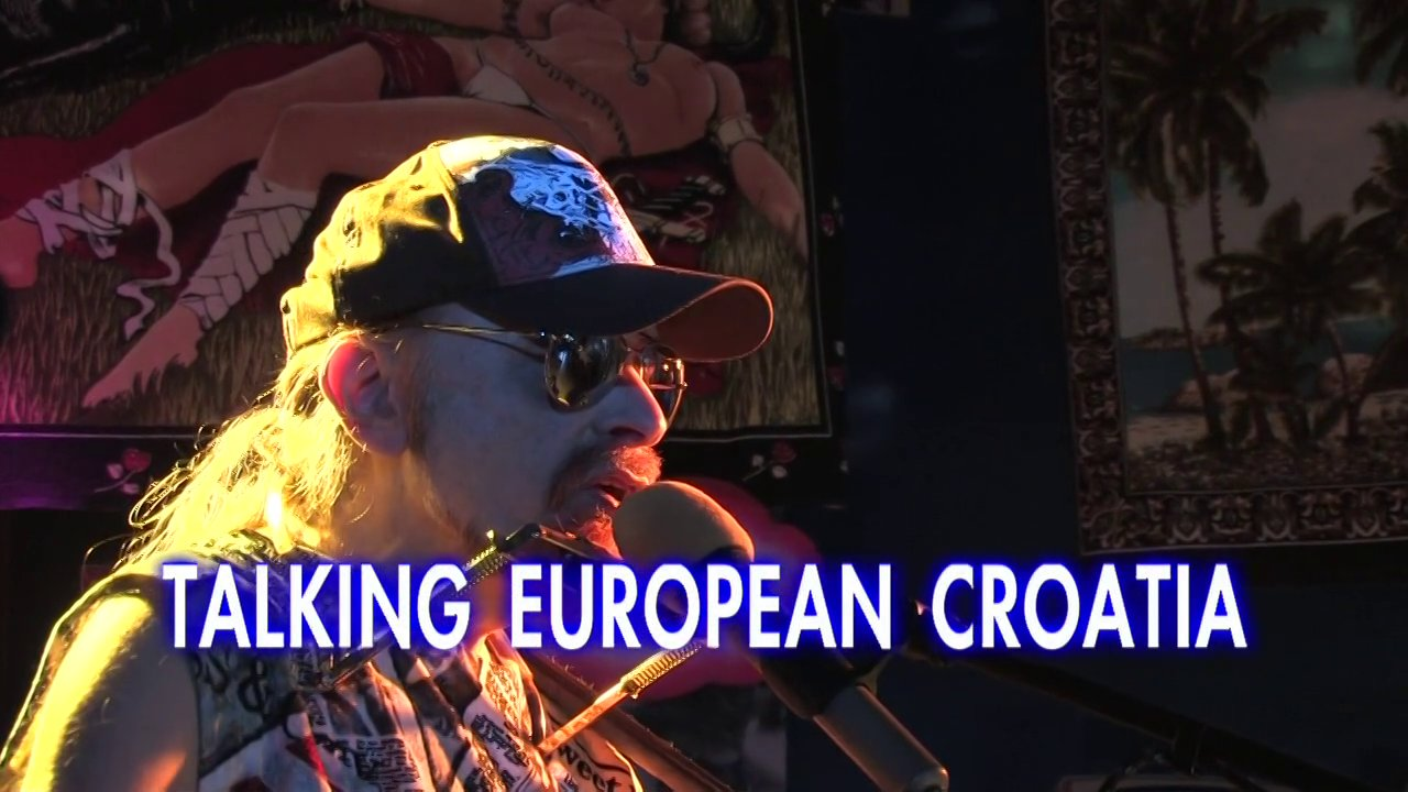 Talking European Croatia - Michel Montecrossa's New-Topical-Song for Croatia joining the European Union