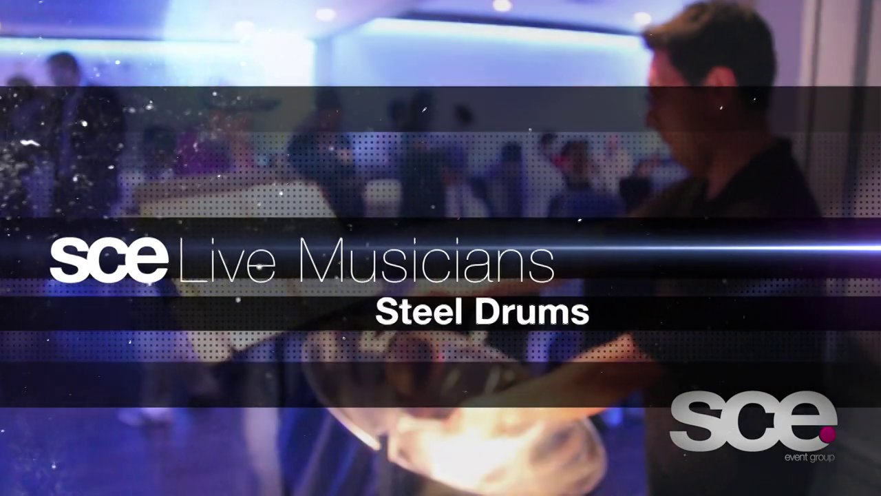 SCE Event Group - Live Musician Showcase - Steel Drums