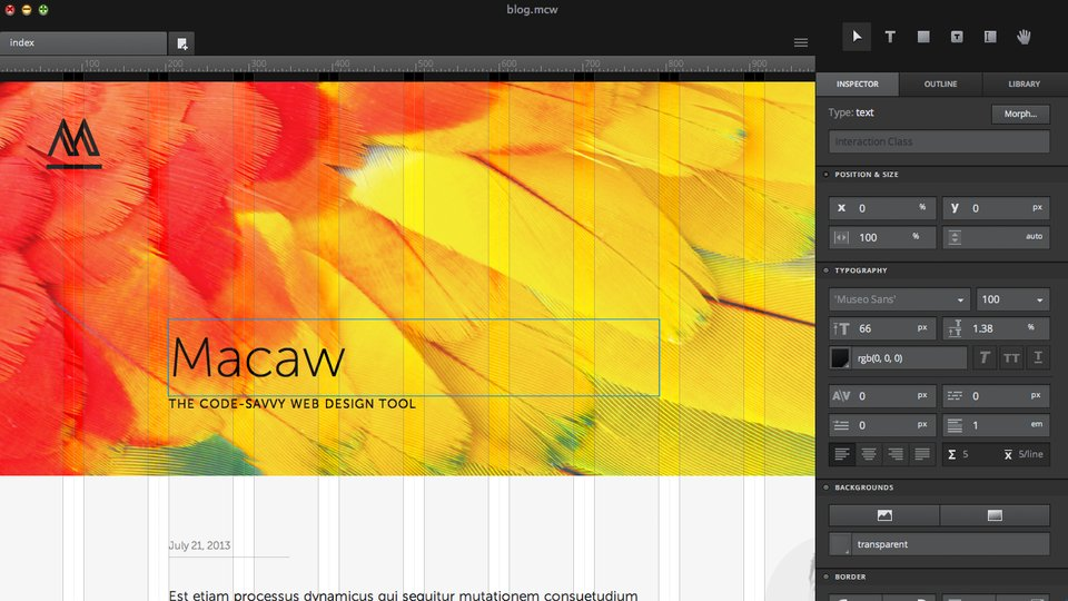Macaw: Could this be the front end web design tool we've all been ...