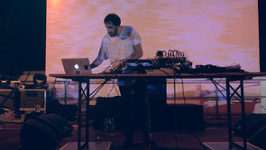 GOLD PANDA @ Radar Festival - july 2013- Padova (Italy)