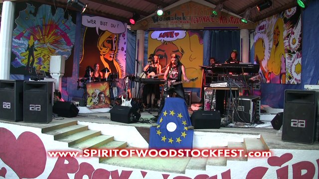 When I Sing For You My New Song - Michel Montecrossa's song for the Spirit of Woodstock Festival 2013 in Mirapuri, Italy