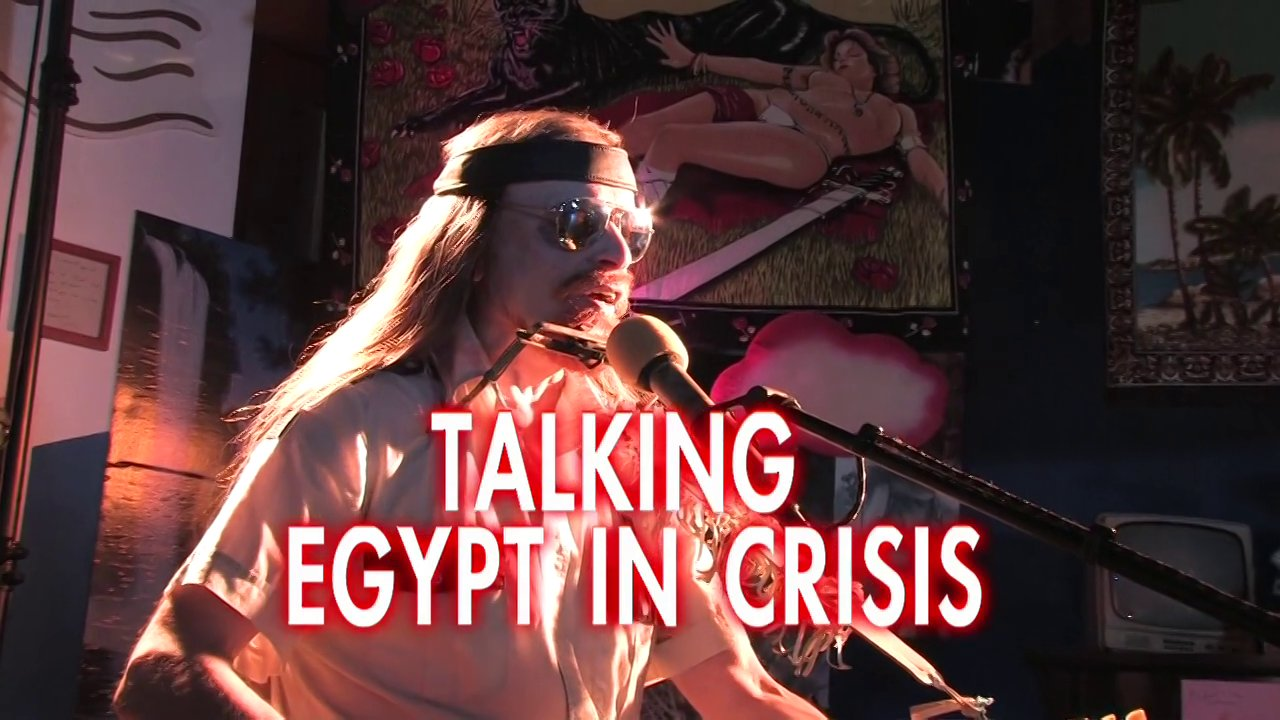 Talking Egypt In Crisis - Michel Montecrossa's New Topical Song for Egypt's free and progressive future