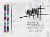 Moment PB&J Skis 2014