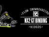 Flow NX2-GT Snowboard Bindings 2014