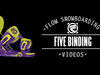 Flow The Five Snowboard Bindings 2014
