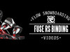 Flow Fuse-RS Snowboard Bindings 2014