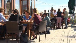 Kennemer Business Beach borrel 2013,