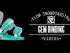 Flow Gem Snowboard Bindings - Women's 2014