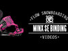 Flow Minx-SE Snowboard Bindings 2014