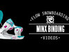 Flow Minx Snowboard Bindings 2014