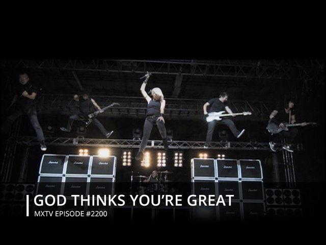 GOD THINKS YOU'RE GREAT - # 2200