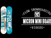 Flow Micron Mini Snowboard 2014