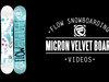 Flow Micron Velvet Snowboard 2014