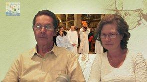Ordination diaconale, cathédrale d'Alès : entretien avec Bernard & Françoise Bruneel
