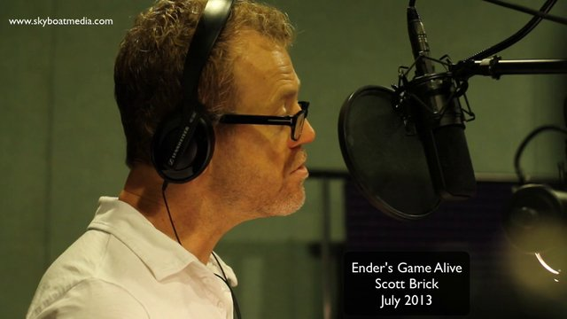 Scott Brick - in Ender's Game Alive