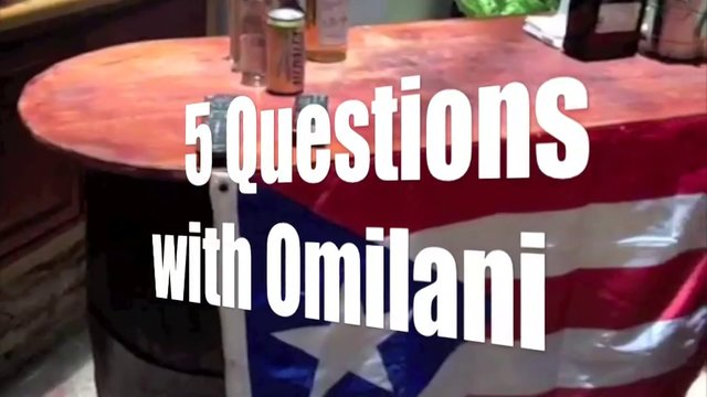5 Questions with Omilani San Juan Puerto Rico