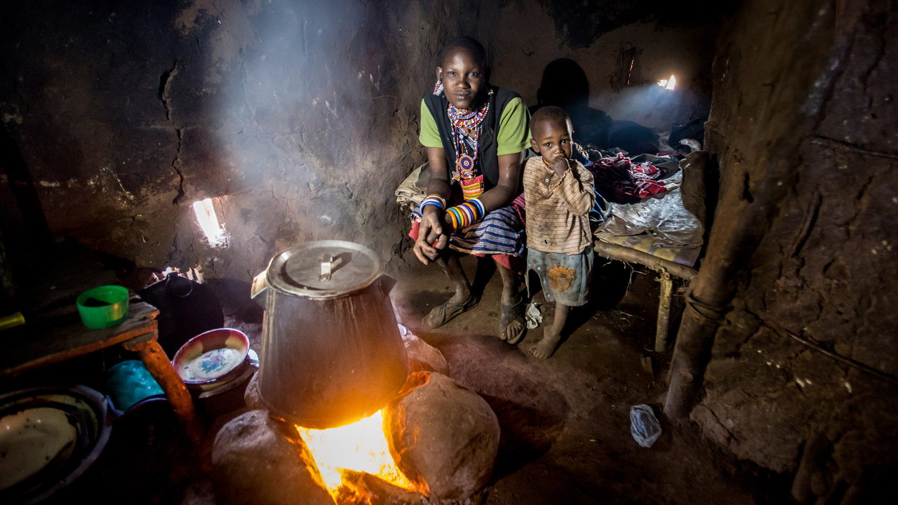 A Widowed Maasai Mother's Struggle To Survive
