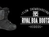Flow Rival Coiler SB Boots 2014