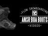 Flow ANSR Coiler SB Boots 2014