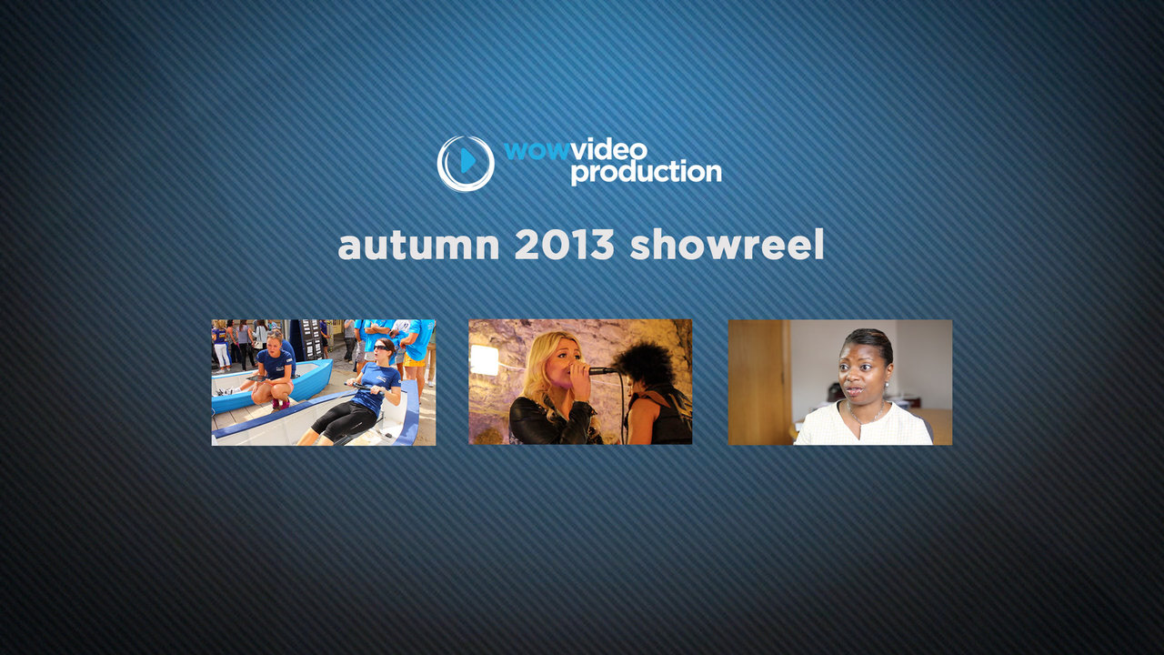 Showreel Autumn 2013