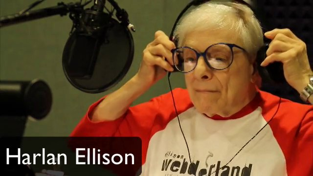 Harlan Ellison #endersgame Studio Session July 2013