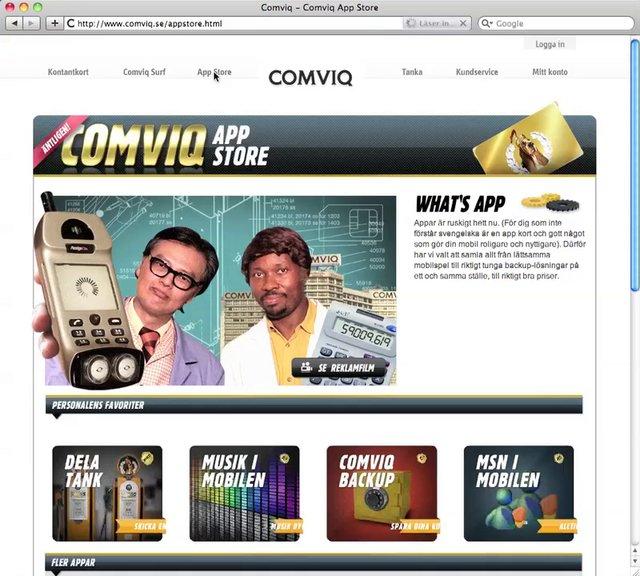 comviq app