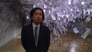 「塩田千春展 ―ありがとうの手紙」