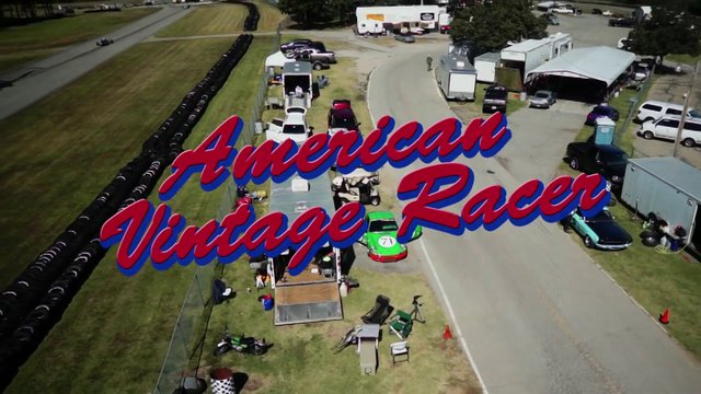 Busstation on the American Vintage Racer Trailer