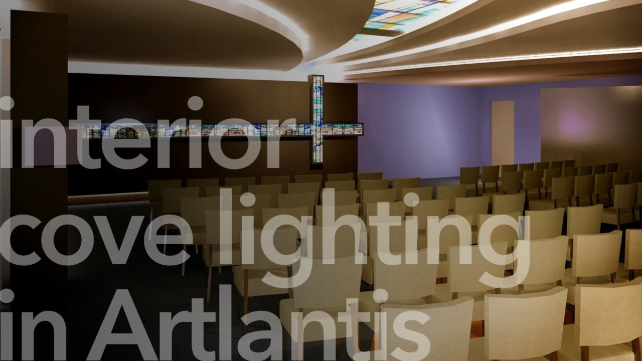 ✱ How to do Interior Cove Lighting in Artlantis — Method Digital ...