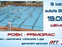 Najava Triglav Jadran Vaterpolo Liga -- Pošk - Primorac