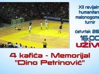 """Najava XII revijalnog humanitarnog malonogometnog turira 4 kafića - """"Memorijal Dino Petrinović"""""""