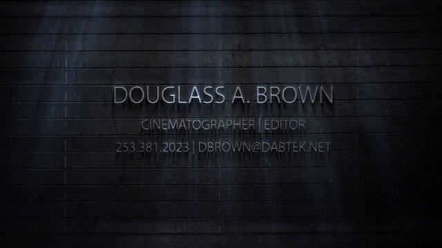 Cinemtographer | Editor's Reel