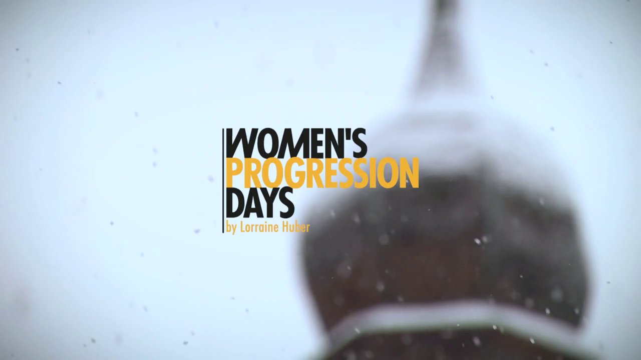 Women's Progression Days by Lorraine Huber 2014