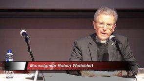 ''L'Eglise dans le monde'', samedi 18 janvier 2014. Introduction de Mgr Robert Wattebled