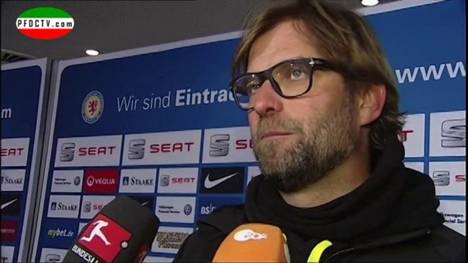 Jürgen Klopp – praising Daniel Davari