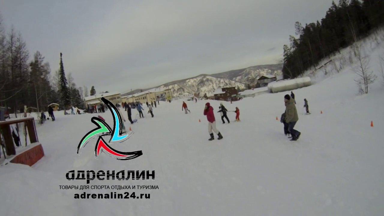 """Дивногорск. Горнолыжный комплекс """"Дивный"""". 2014"""
